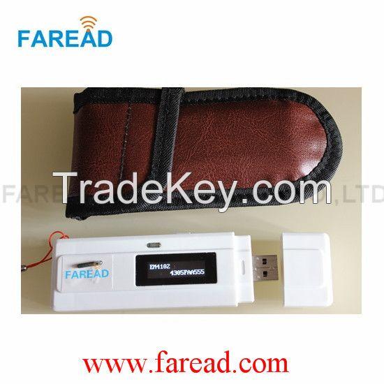 RFID Reader  mini porcket and portable scanner for animal tracking ISO11784/11785 LF 125khz 134.2khz