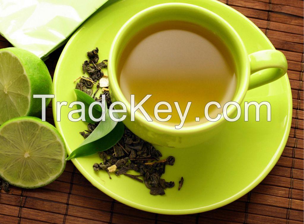 Quality green tea.