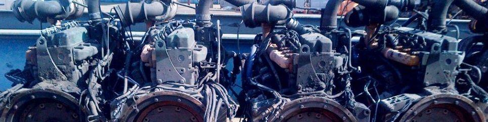 used truck engine