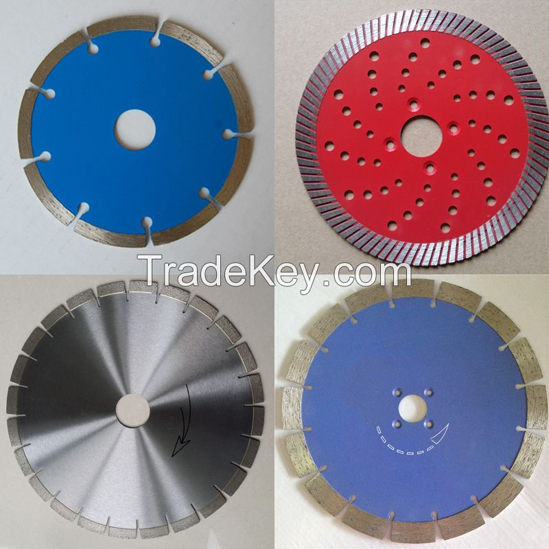 105mm 115mm 150mm 350mm 400mm wet or dry turbo diamond saw blade for granite stone cutting