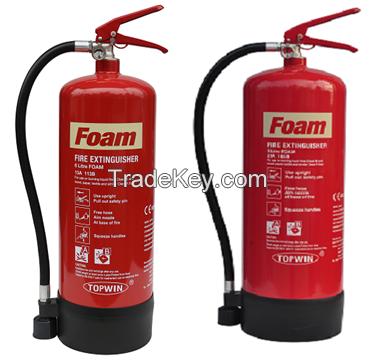 CE(EN3-8) Approved Foam Fire Extinguisher 6L 9L