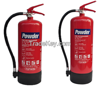 CE(EN3-8) Approved Powder Extinguishers 6kg 9kg