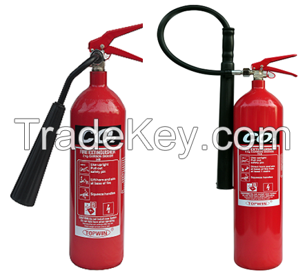 CE Approved CO2 Extinguishers (Alloy Steel) 2kg 5kg