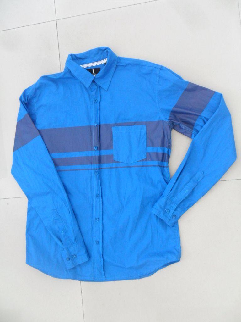 100% cotton twill audlt shirts with pocket