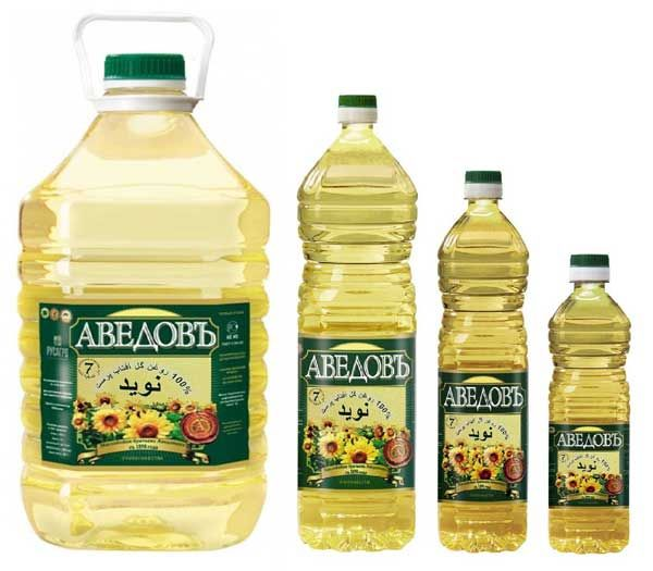 100% Pure Refined Sunflower Oil