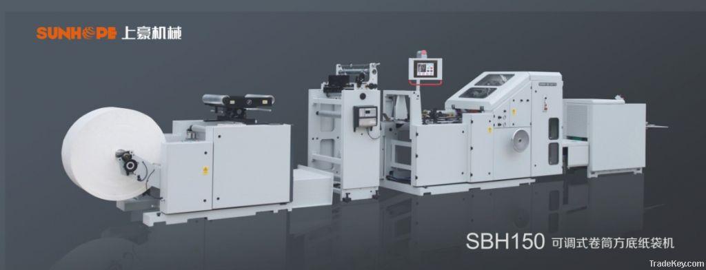 SOS paper bag machine
