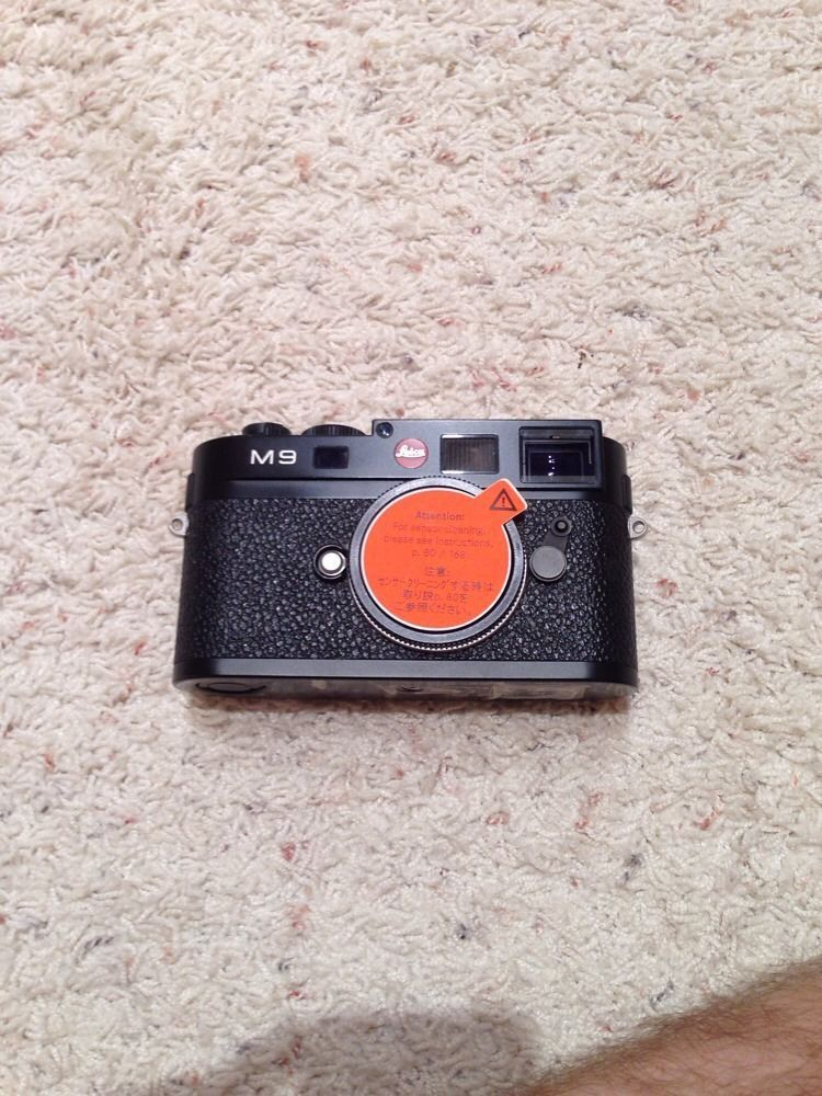 Leica M9 18.0 MP Digital Camera - Black