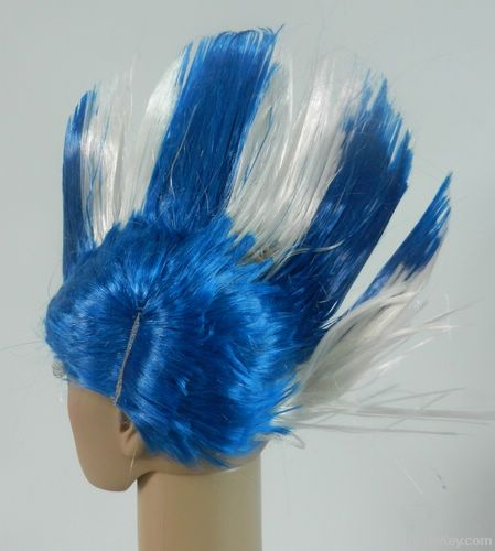 Favorites Compare football fan hair wig made of 100% heat-resistant sy