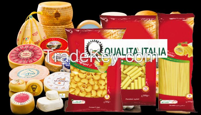 Pasta , Spaghetti , Maccaroni Made in Italy original food & deli