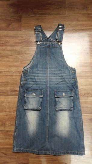 Used Ladies Cotton One-Piece Dress