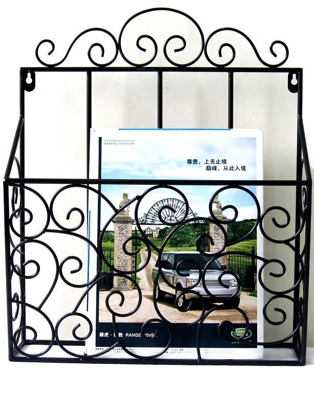 Magazine Wire rack Wall Decoration