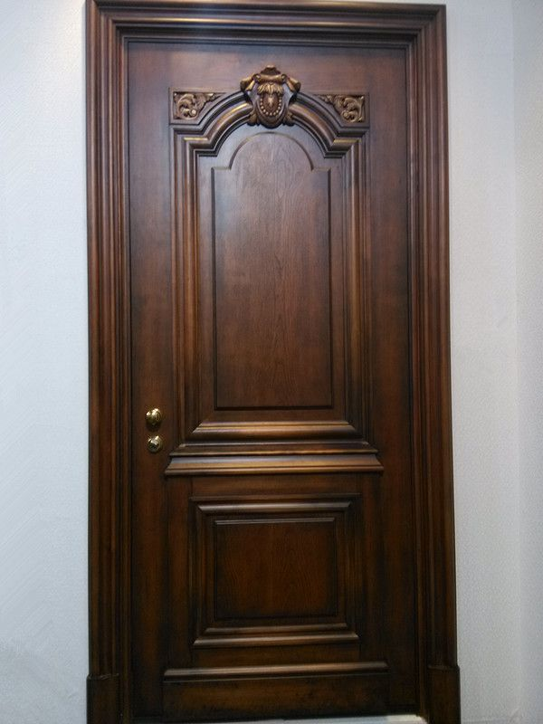 Main Door Wood Carving Design Mahogany Wood Entry Door: main door wooden design