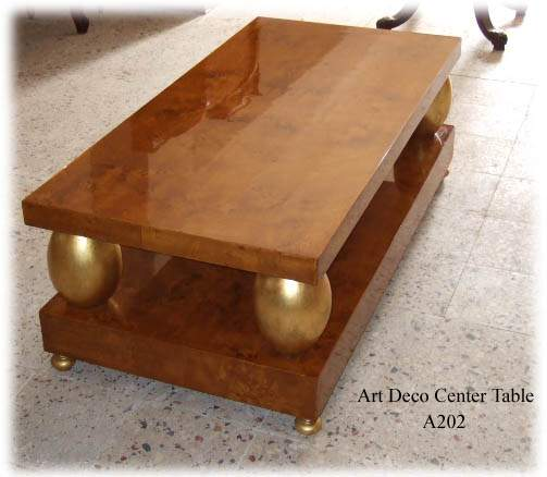 Lovely Art Deco Furniture Reproductions. Art Deco Center Table Furniture  Reproductions 8 Nice Design