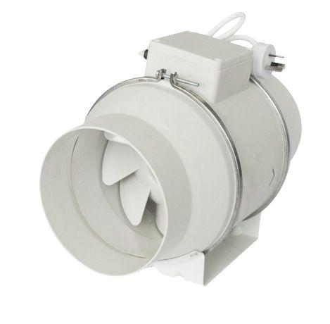 Mixed Flow Inline Duct Fan, Inline Fan, Hydroponics Fan, Plastic Inline Fan,  Bathroom Ventilation Fan, Air Fan