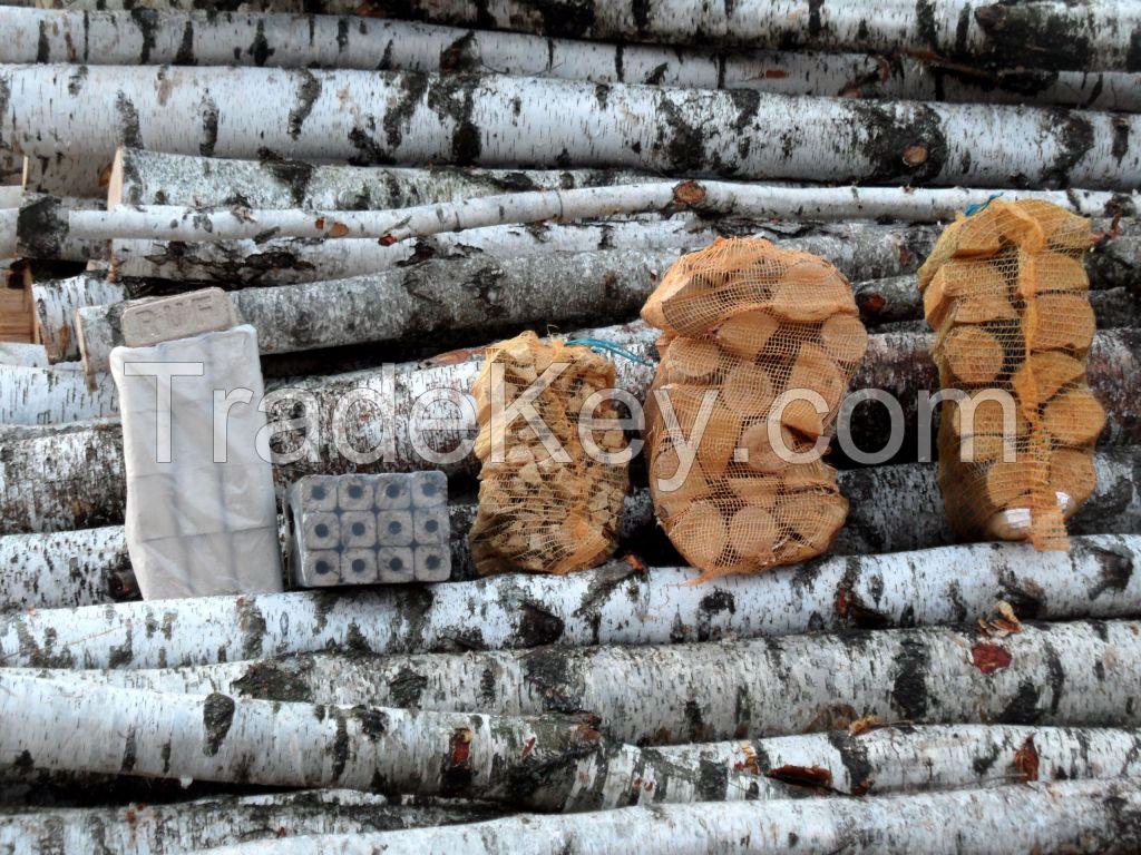 Firewood, Briquettes, Pellets