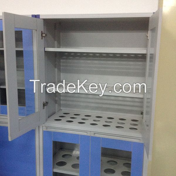 Laboratory Glassware/Chemicals Ironing Board Storage Cabinet