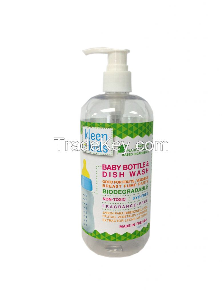 Kleen Kids Baby Bottle & Dish Wash
