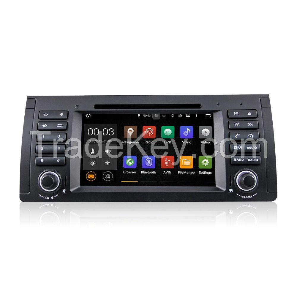 Bmw e39 car dvd player gps android 5 1 1 rk3199 quad core du7061