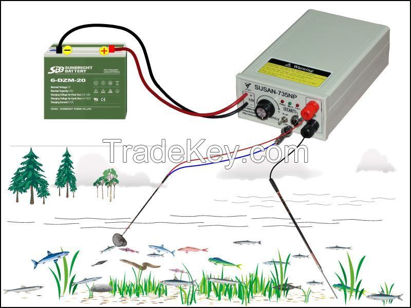 ловля рыбы на электрошокер