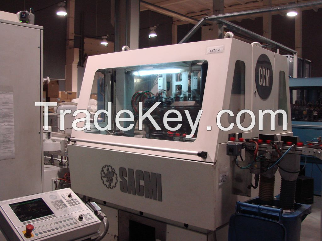 SACMI compression molding line for cap 28 mm PCO 1810