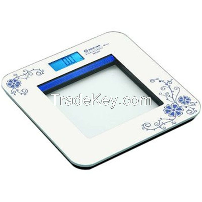 Glass panel with ITO coating for healthy fat scale