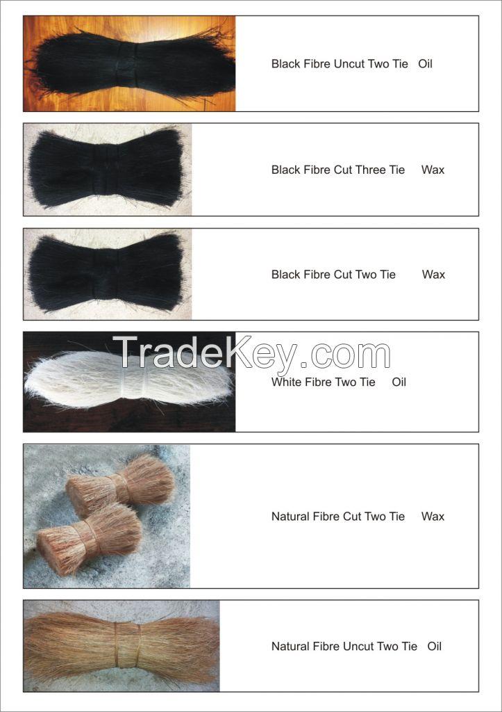 Dyed coir fibre