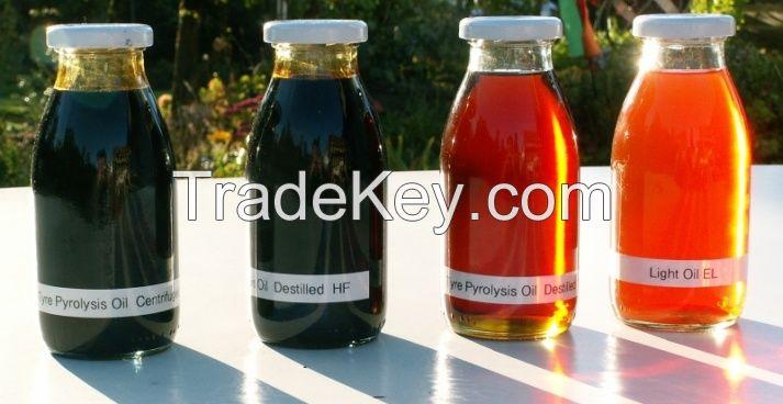 pyrolysis Oils - Industrial Diesel