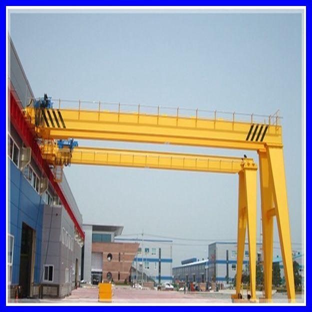 3 Ton Gantry : Ton semi gantry crane with electric hoist double girder