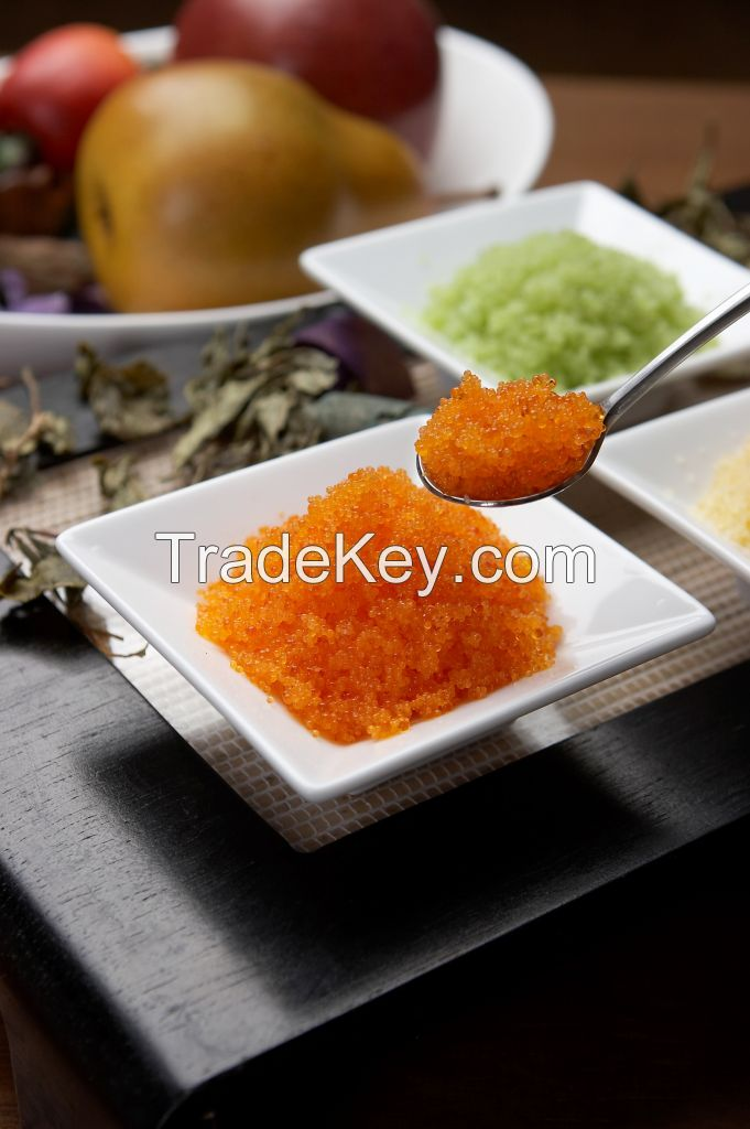 Frozen Seasoned flying fish roe (Tobiko)
