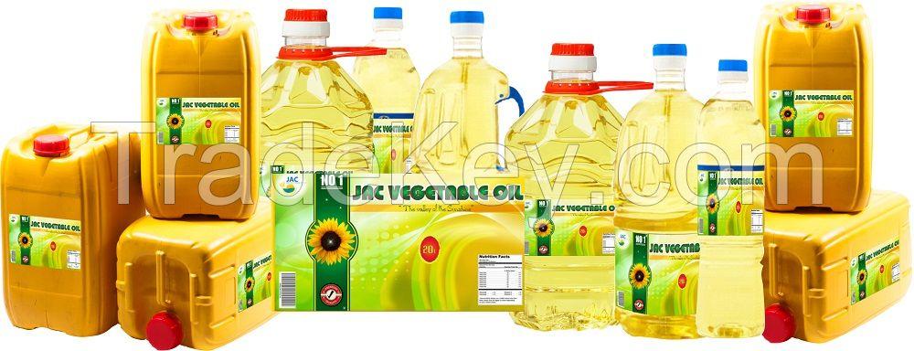 All edible oil  | Vegetable cooking oil | Refined Soybean oil | Refined sunflower oil  | Palm oil | Corn oil | Olive oil | Coconut oil | Peanut oil | Canola oil | Shortening | Margarine | Vegetable Ghee