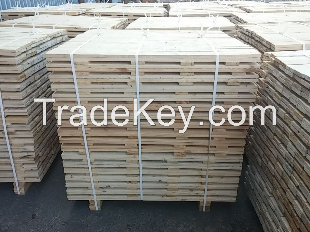 pine lumber for pallets, pallet boards, pallet elements