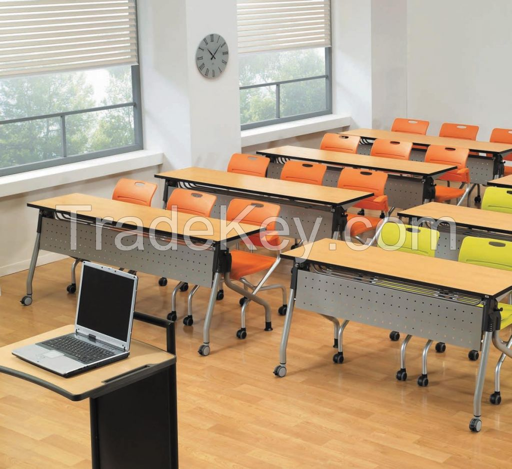 Movable Folding Lecture Table For School