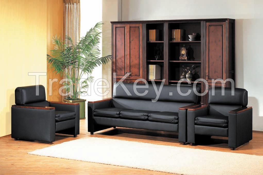Modern Design Leather Office Sofa Set