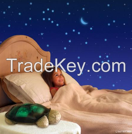 Twilight Turtle Night Light Stars Projector Lamp Toy