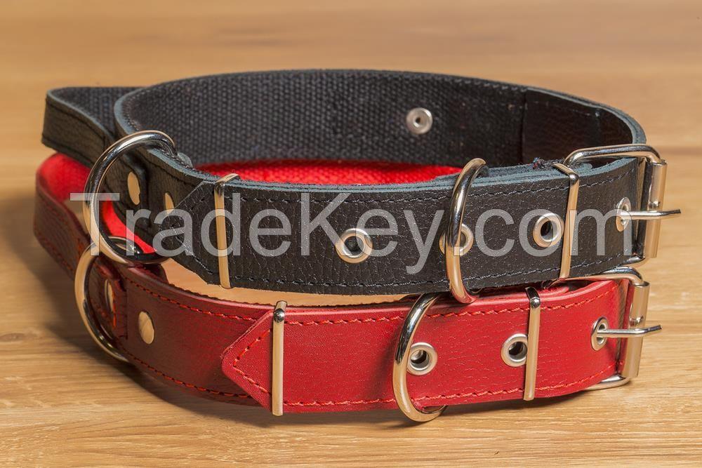Collars, leads