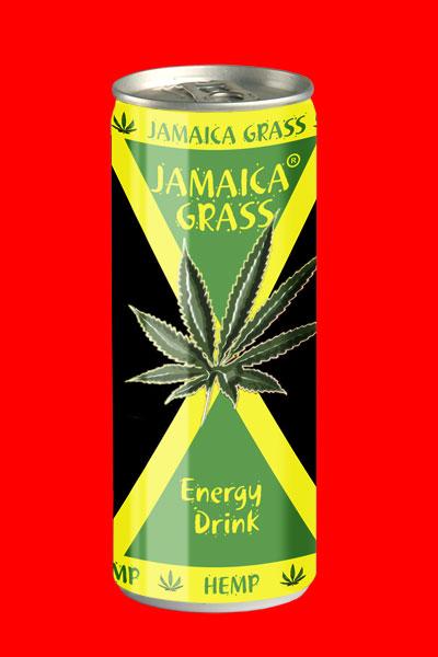 Jamaica Grass Energy Drink