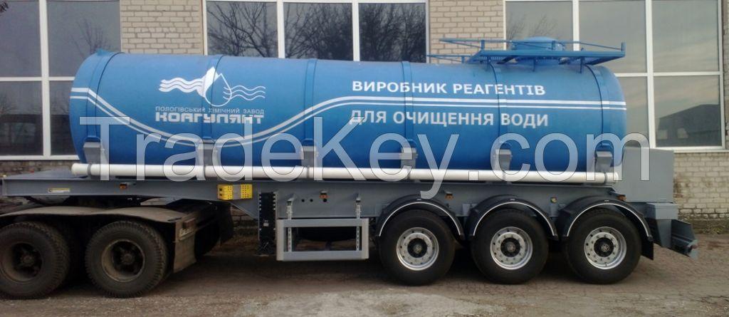 Chemical tank trailer Compozzi L4BN