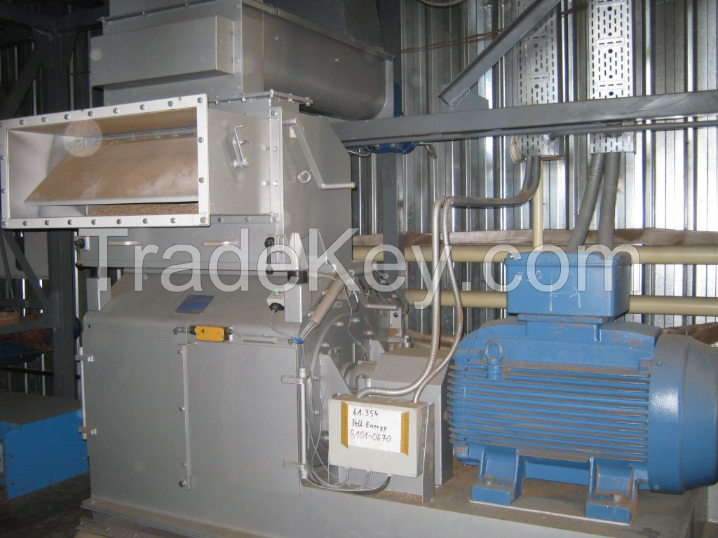New Kahl wood pellet mill plant for sale