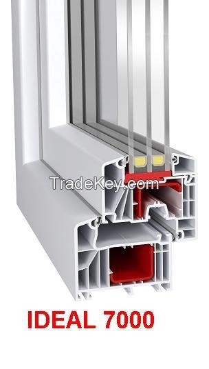 windows of PVC
