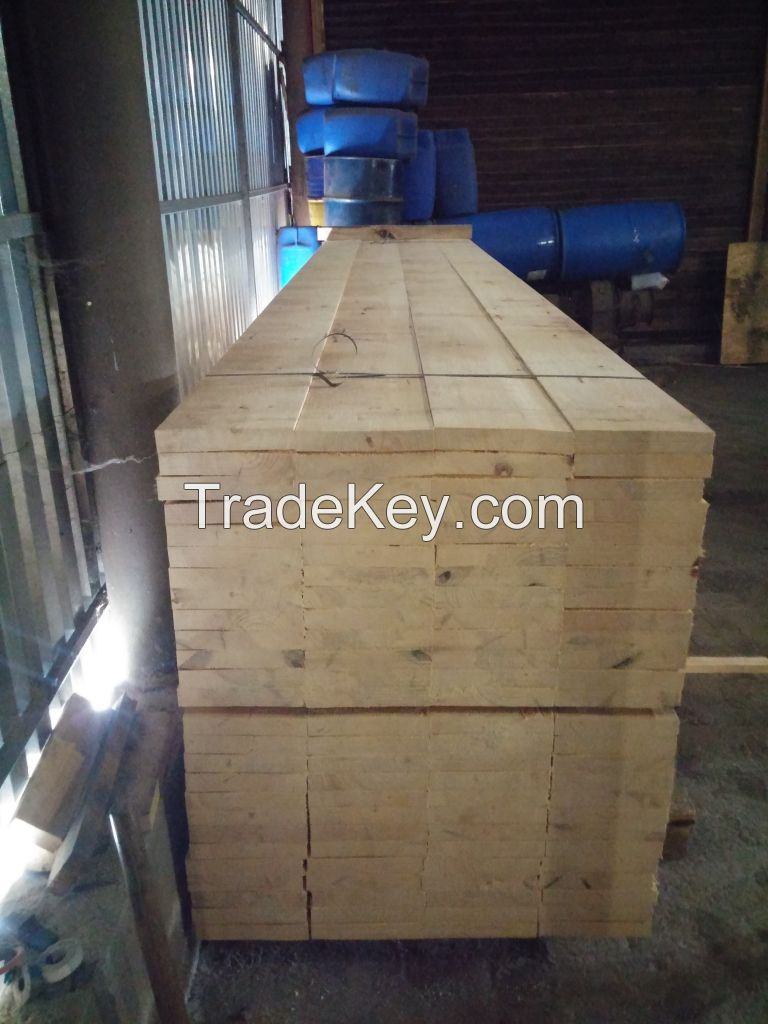Pine lumber cut to your order
