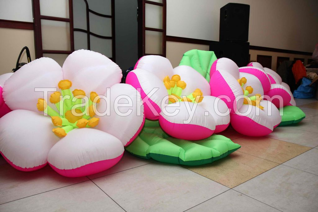 inflatable flowers Apple blossom 5/7/10 m. for weddings, events, festivals, birthdays