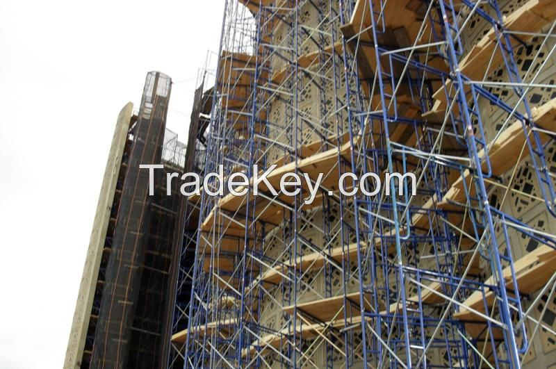 H Type Light Facade Scaffolding System