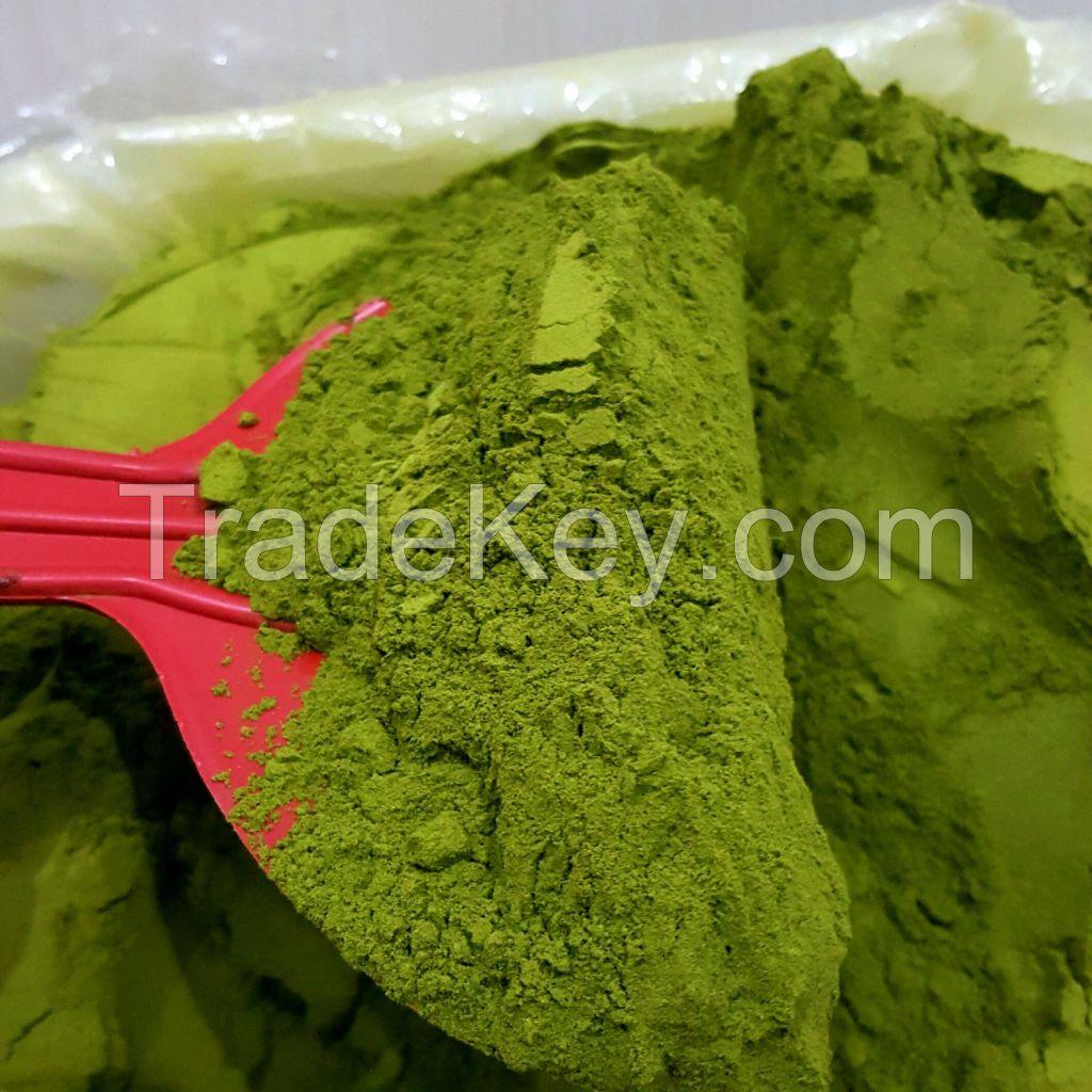 Kratom Powder Green Kapuas, High Alkaloid, Fresh, potent, Higyenic ( the original quality )
