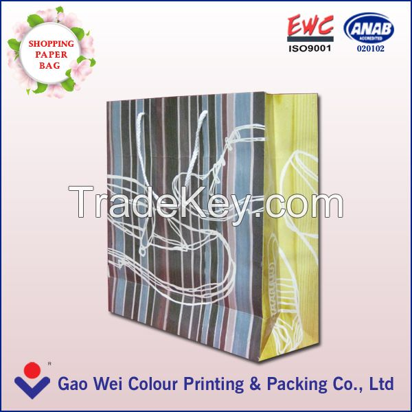 Latest Fashion Kraft Paper Bags Manufacturer