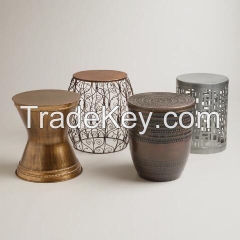 Iron Drum Table