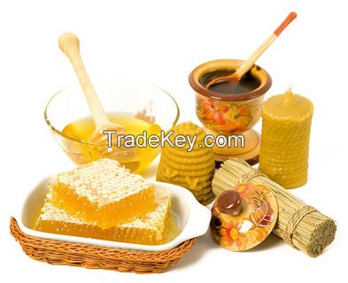 sunflower honey, polyflora honey