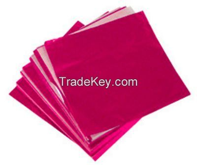 Colorful Flat Cellophane Paper for Candy/Gift Wraps