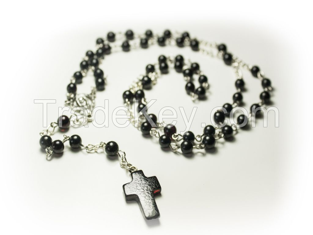 New listing Natural Baltic Amber CHRISTIAN, CATHOLIC ROSARY meditation & prayer beads