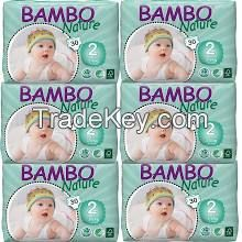 Pure Cotton Bambo Nature Baby Diapers
