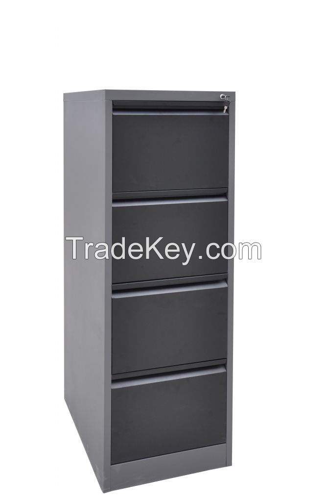 K/D Office Hanging 4 Drawer Filing Steel Cabinet